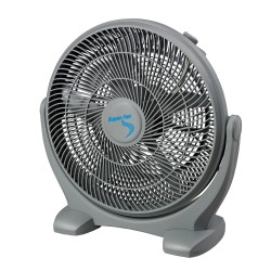 "Ventilador de suelo Super Grower 45cm 18"" plástico"