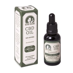 Aceite de CBD 3% (900mg) 30ml Sensi Seeds